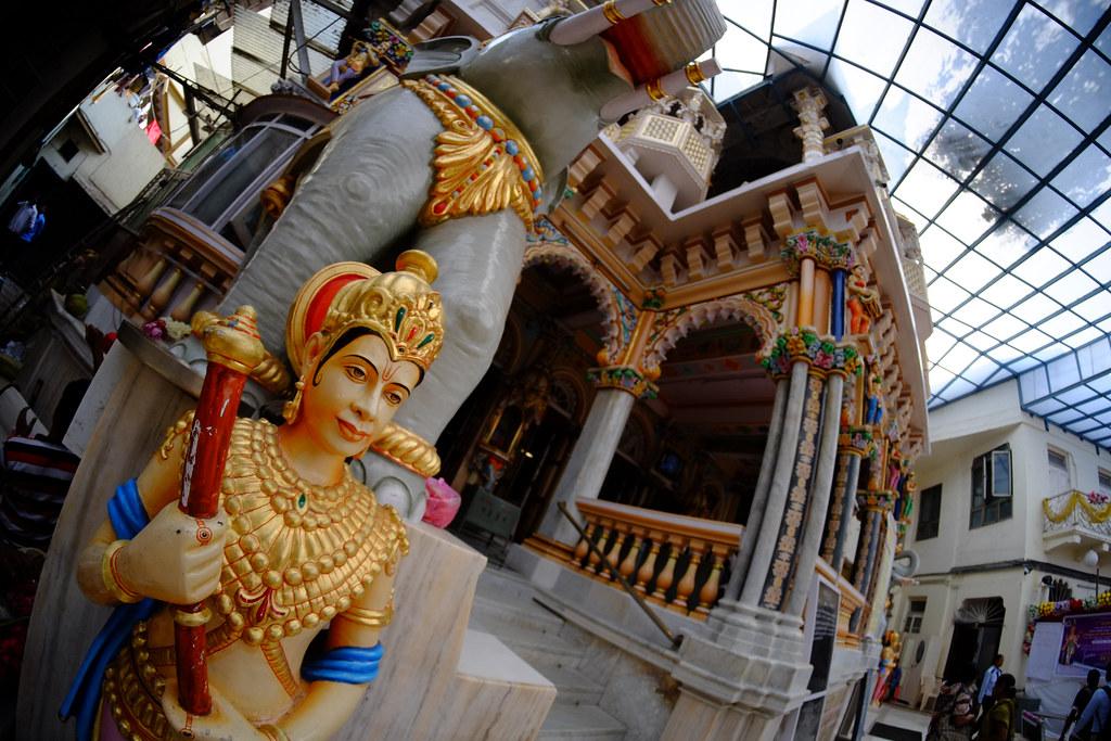 Inside the Babu Amichand Panalal Adishwarji temple