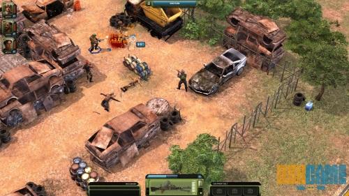 Jagged Alliance Online gameplay 1