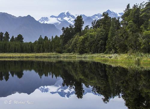 newzealand mountains sunrise landscape southisland lakematheson