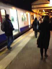District Line D Stock at North Ealing