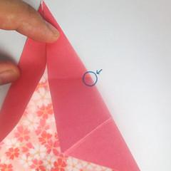 สอนวิธีการพับกระดาษเป็นดอกมะเฟือง (Origami Carambola) 008