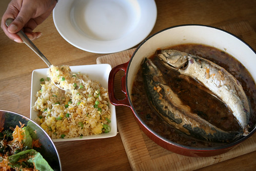 Caramelised Coconut Mackerel from Uyen Luu's book