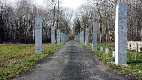 GURS - Entrée du Camps de Gurs (en venant d'Oloron-Sainte-Marie)