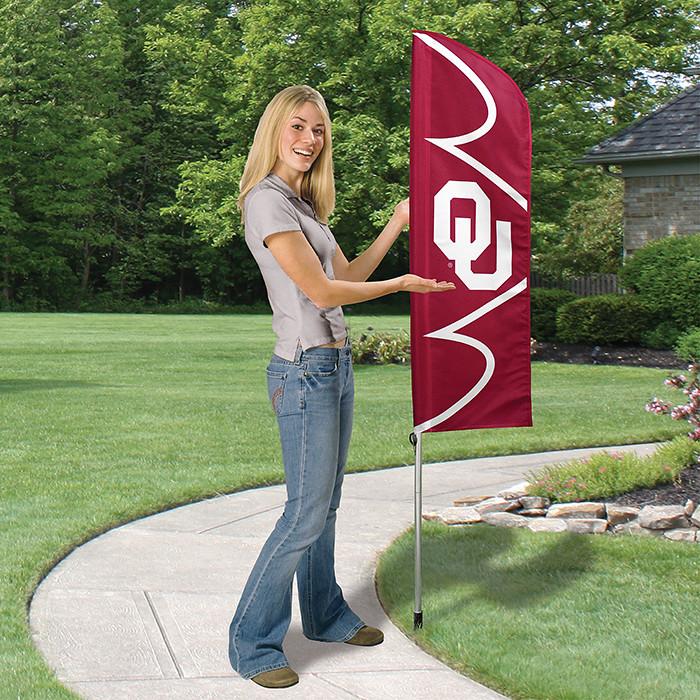 Oklahoma Short Feather Flag