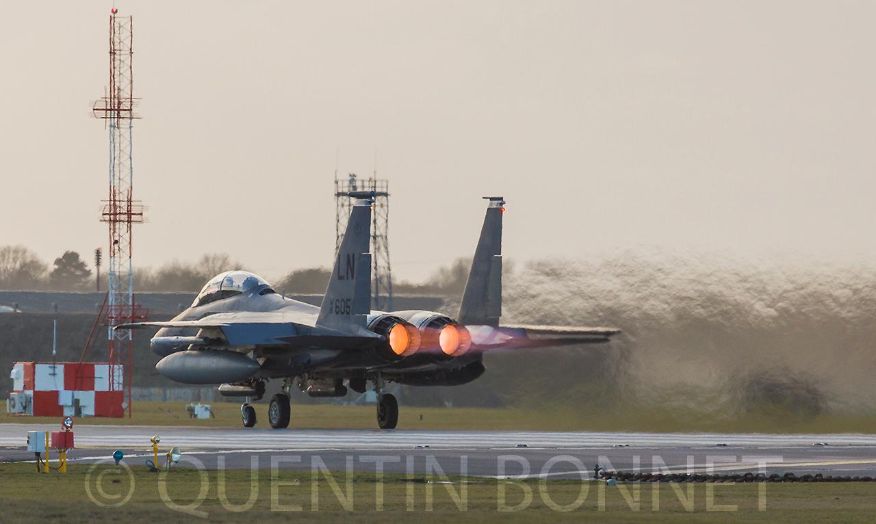 USAF McDonnell Douglas F-15E Strike Eagle LN 606