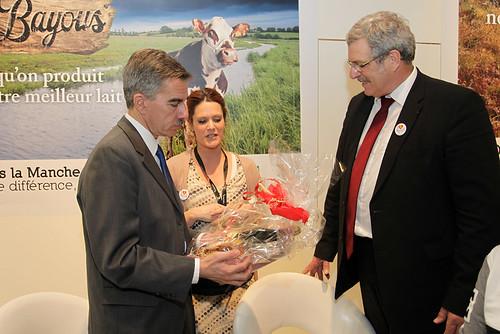 Salon de l 39 agriculture l 39 ambassade des etats unis sur le for Chambre agriculture manche
