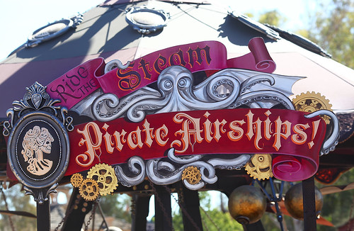 Pirate Airships Steampunk Ride 2014 Arizona Renaissance Festival (ARF)