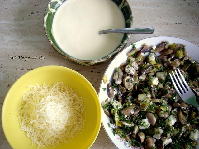 Tarta cu praz si ciuperci (10)