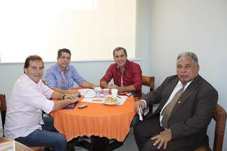 Veredores Tarzan e Bidu, de Barueri, têm reunião com presidências nacional e estadual do Solidariedade