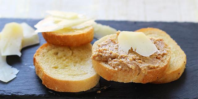 Almond Butter, Honey & Manchego