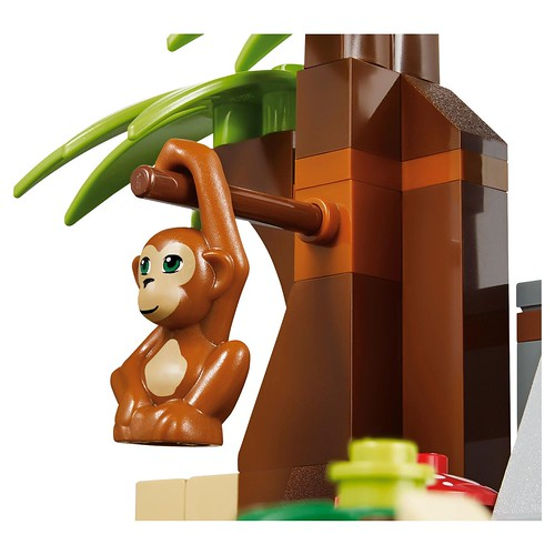 LEGO Friends First Aid Jungle Bike #41032 Orangutan