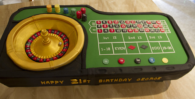 Casino Birthday Cakes Ii A Gallery On Flickr