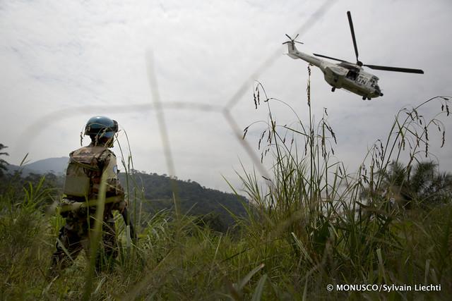 Na República Democrática do Congo, um brasileiro está no comando das operações de paz. Foto: MONUSCO/Sylvain Liechti