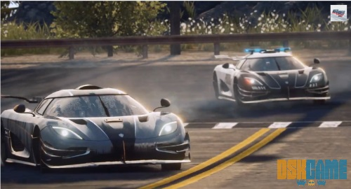 Need for Speed™ Rivals Koenigsegg One:1 persecución