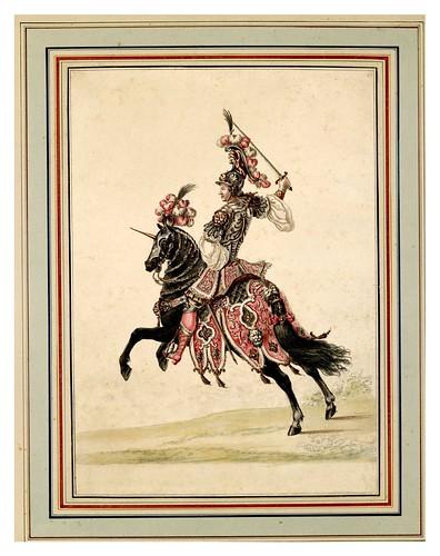 002-Carrousel des galans Maures de Grenade…1685- Jean Berain- INHA