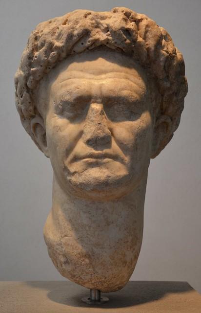 Vespasian, from Minturnae (Minturno, Italy), 69-79 AD, Palazzo Massimo alle Terme, Rome