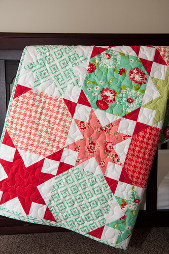 Starstruck quilt pattern by Vanessa Goertzen of Lella Boutique.