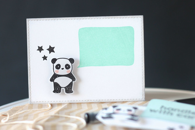 say it with pandas {mama elephant designer series}