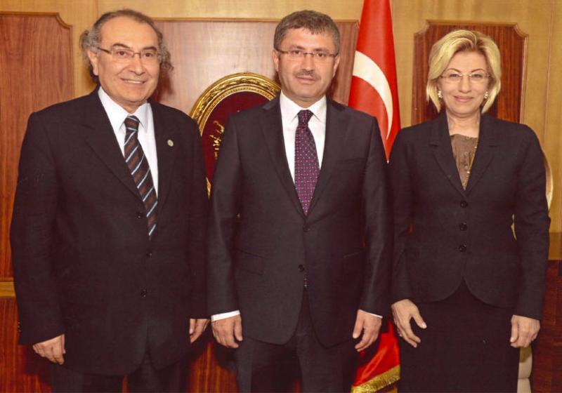 Rektör Prof. Dr. Nevzat Tarhan Üsküdar Belediye Başkanı'nı ziyaret etti