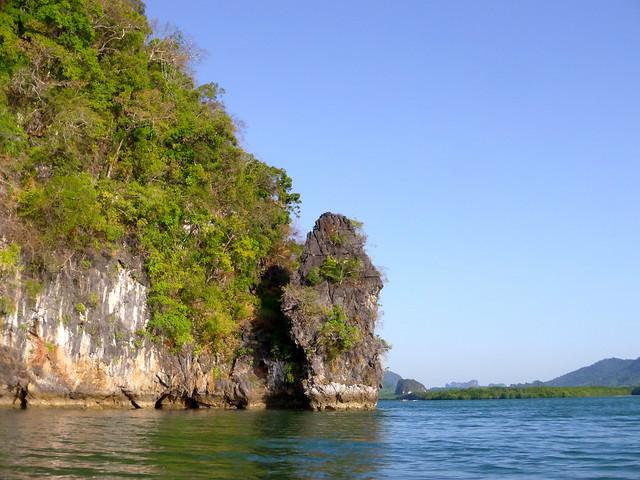 Kayaking in Thalane Bay, Thailand
