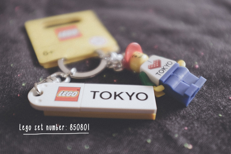 Lego Tokyo Keychain
