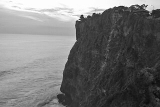 Bali -Uluwatu temple by the cliff