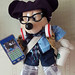 Hipster Pal Mickey - Standing Front 2 by eblackwell