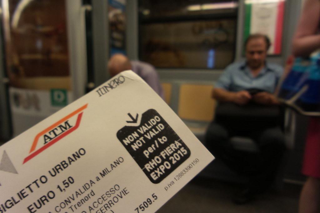 #Biglietto non valido per #Expo, attenzione!