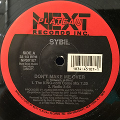 SYBIL:DON'T MAKE ME OVER(LABEL SIDE-A)
