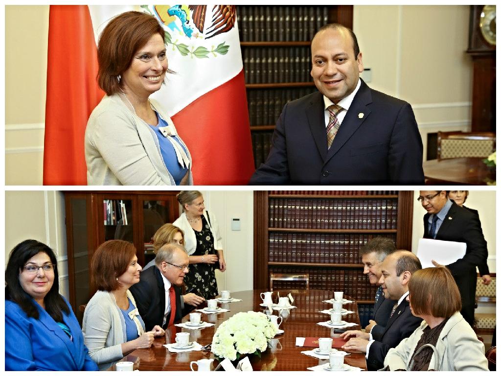 Visita Polonia el Presidente de la Mesa Directiva de la Cámara de Diputados