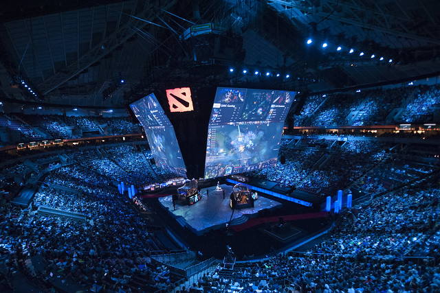 The Arena During the Grand Final