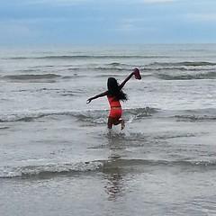 Freedom! #kids #momlife #wasagabeach #Ontario