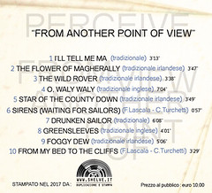 """CD audio """"From Another Point of View"""" - Perceive"""