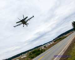 Unique Angle of @BoeingDefense EA-18G Growler on Short Final to #OLF
