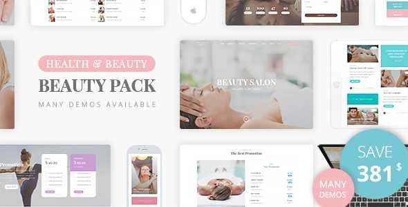 Beauty Pack WordPress Theme free download