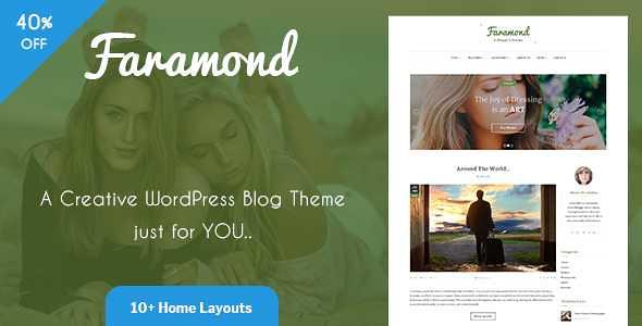 Faramond WordPress Theme free download