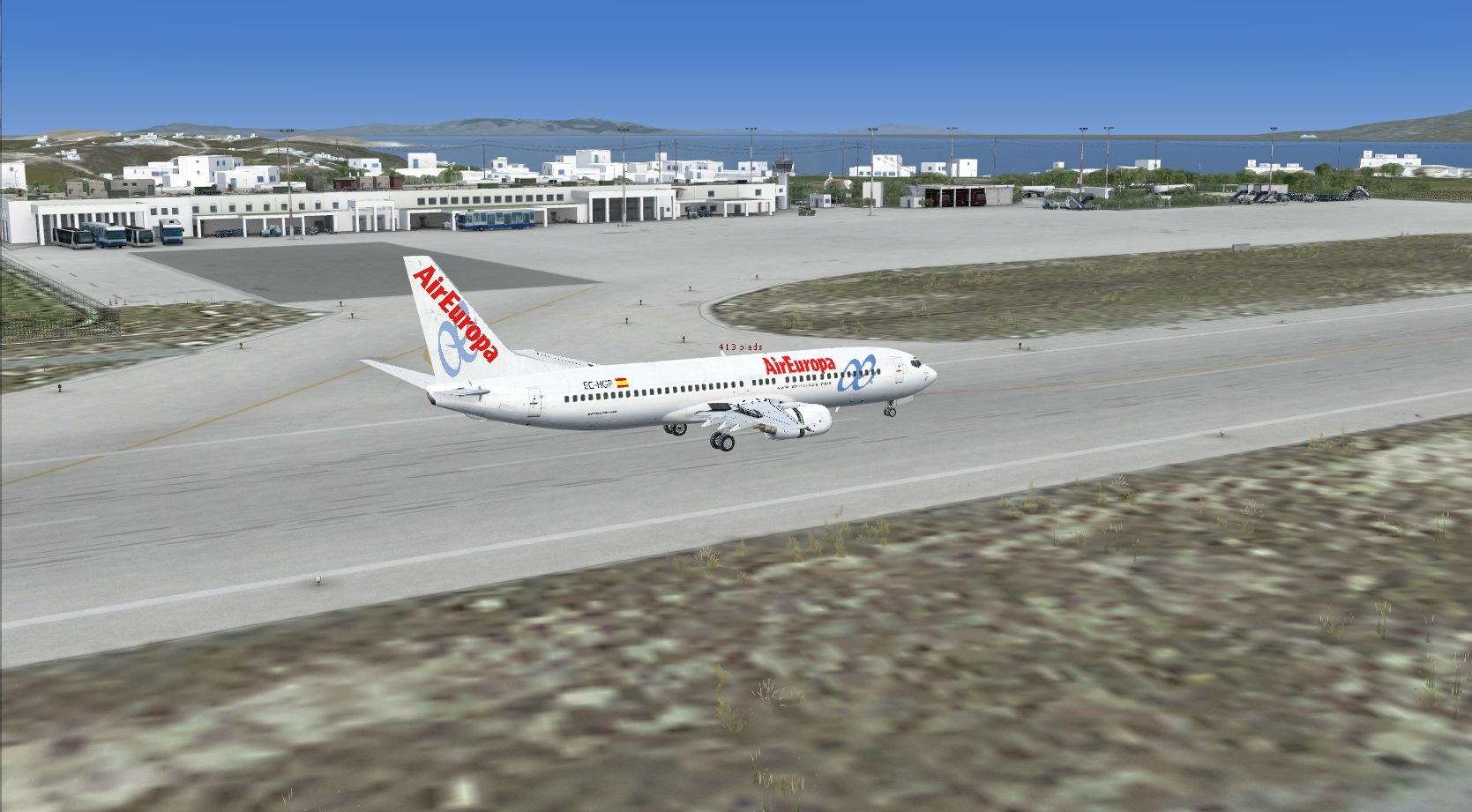 First landing Mykonos 8841250085_a61e576de4_o