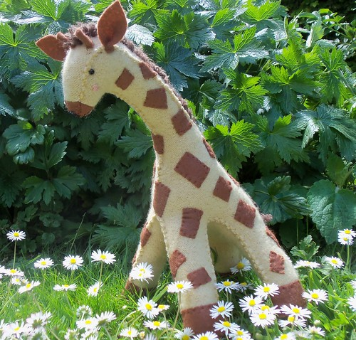 Baby Giraffe Softie