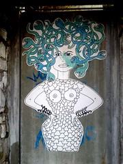 Medusa vs Brigitte Bardot  poster art