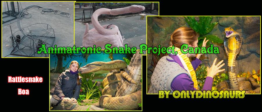 Life Size Animatronic Snake Project