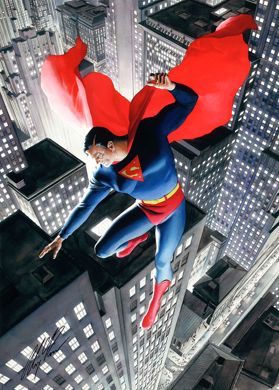 Alex Ross Superman 1 homage