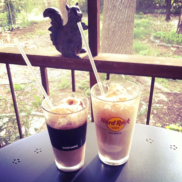 Root beer floats!