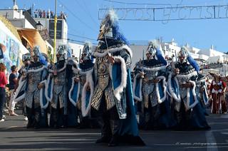 Fête maures et chrétiens /Mojácar 2013/Parade of the Moors & Christians Festival/