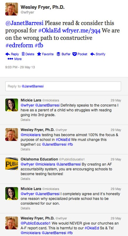 We are on the WRONG path to constructive Education Reform in Oklahoma