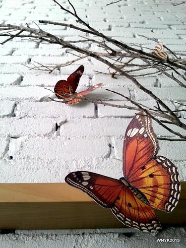 Faux Butterfly