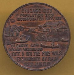 E.H. NOBLE- CHICAGO, 1905-OBVERSE