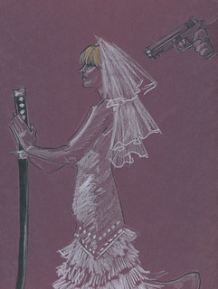 Dr. Sketchy's : Kill Bill : Wedding