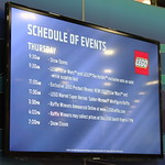 LEGO SDCC 2013 Schedule of Events