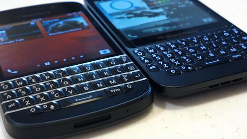 Blackberry Q10 vs Q5