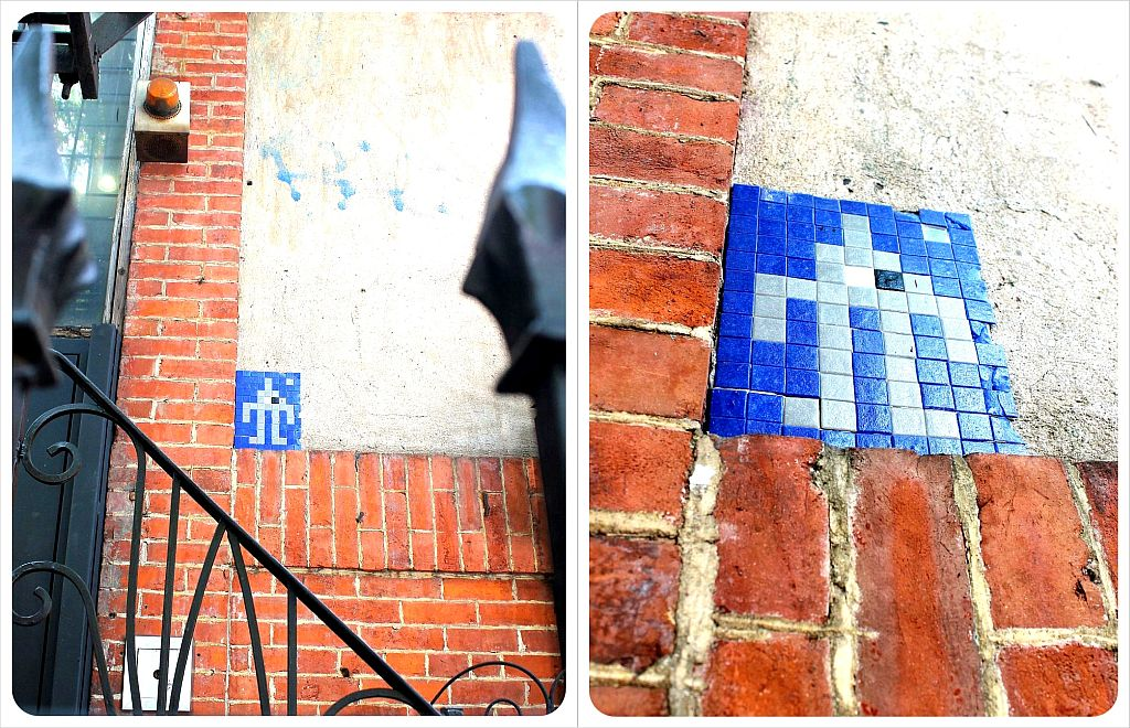 Invader East Village New York